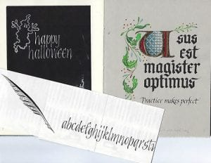 Blackletter Calligraphy Class